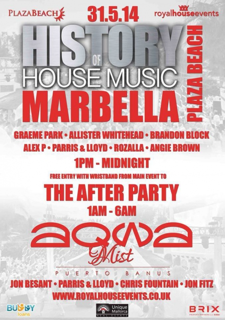 History of house music marbella plaza beach for History of house music