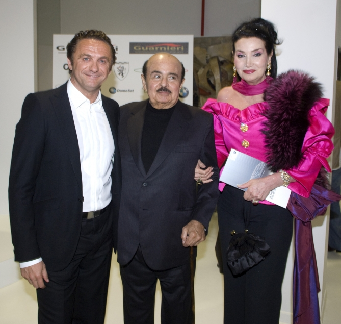 Adnan Khashoggi Joins Mario Guarnieri At The Launch Of The New Bmw 5 Series
