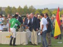The King Don Juan Carlos Will Deliver The Trophy To The Winner Of The Golden Cup Santa Maria Polo Club, August 2017