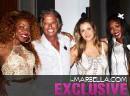 Yanela Brooks exclusive concert at Louis Vuitton island Cheval Blanc Randheli
