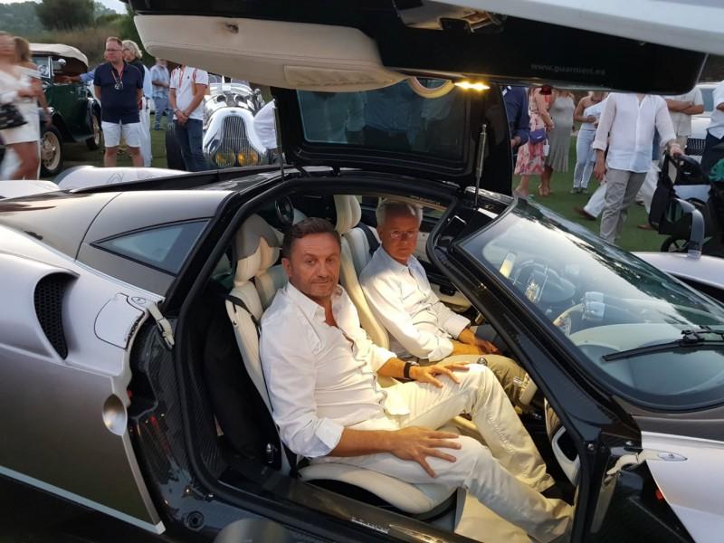 When Were Horacio Pagani And Mario Guarnieri In Daytona Motor - Daytona spring car show 2018
