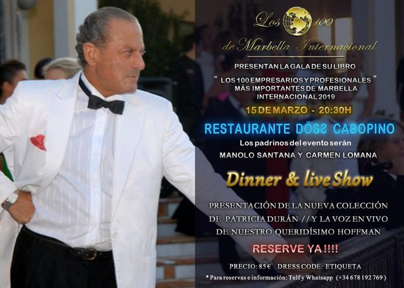 65aa9494a Gala del Libro de Oro de Oscar Horacio   DOSS Marbella el 15 de ...