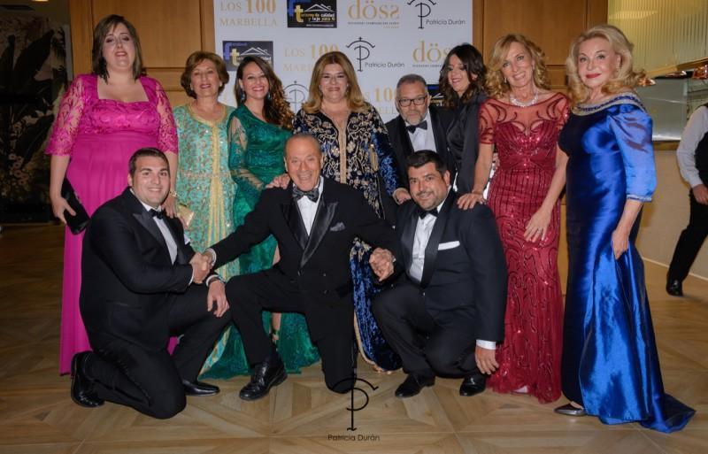 49c6168da Desfile de moda de Patrica Duran en la Gala Los 100 Marbella de ...