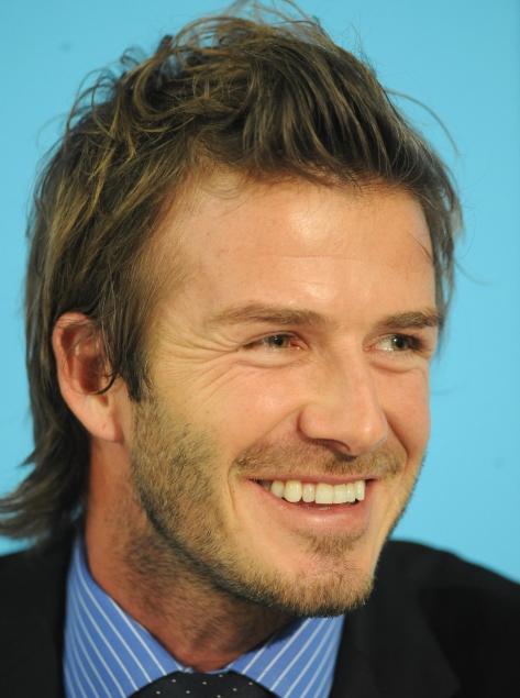 david beckham tattoos jesus. David Beckham Has a New Tattoo