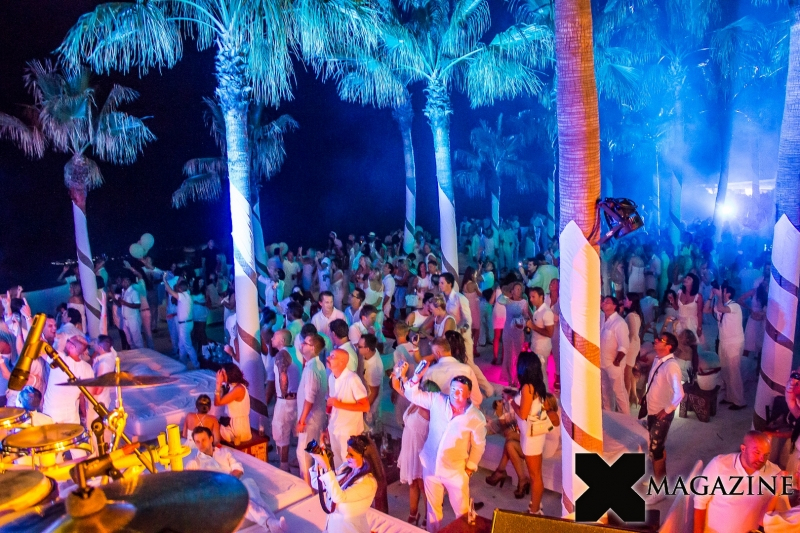 Nikki beach marbella grand opening white party in marbella 2012