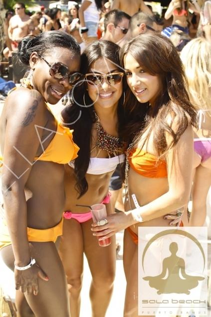Love Juice Pool Party at Sala Beach