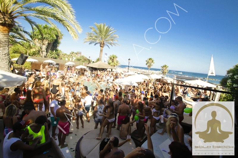 Love Juice Pool Party at Sala Beach