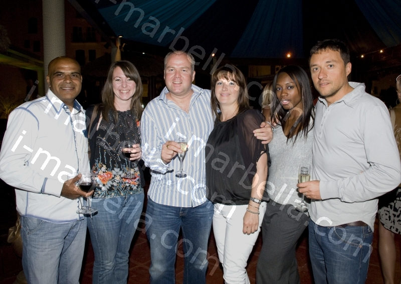 Bubbles host corporate launch party, Puerto Banus, Marbella, Spain