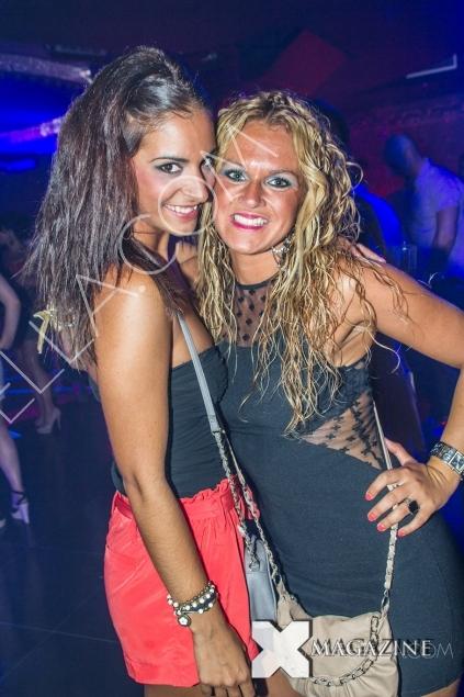Friday night party at Aqwa Mist Nightclub