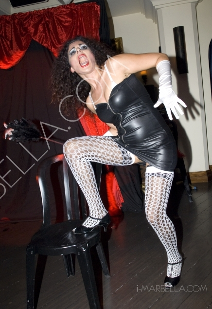 Burlesque Party, Another Great Night at the Polo House, Marbella