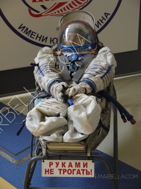 Natasha Romanov's son Alex experiences space training for astronauts in Moscow!