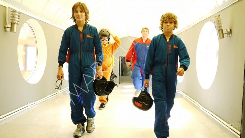 Natasha Romanov's son Alex experiences space training for astronauts in Moscow!