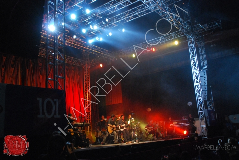 Juanes Unplugged Concert in Malaga