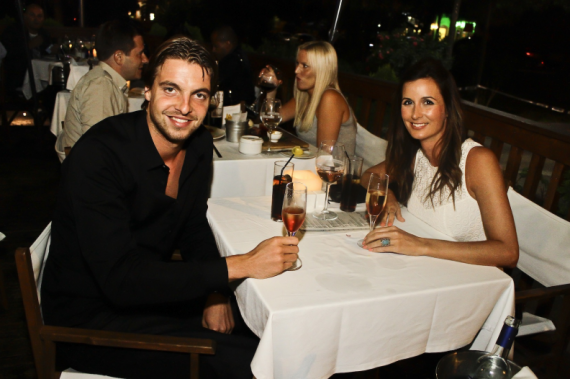 Tim Krul with beautiful, Girlfriend Claire