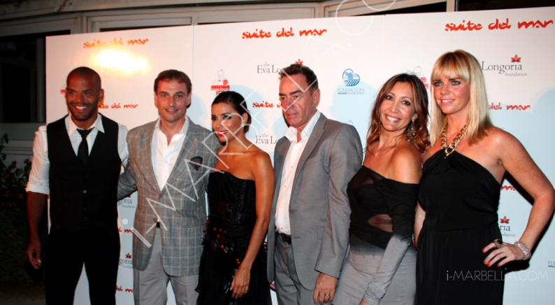 Which celebrities visited Marbella this summer?