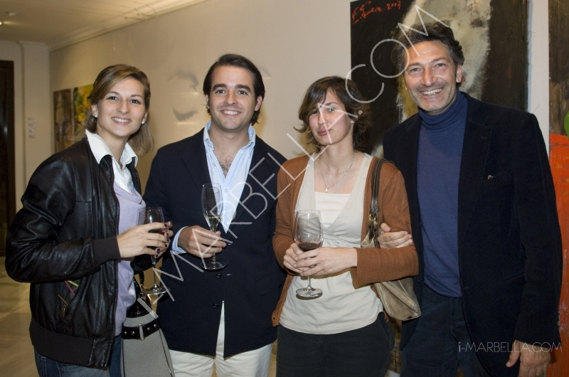 Edward Belsky at the Houses of Art, Marbella