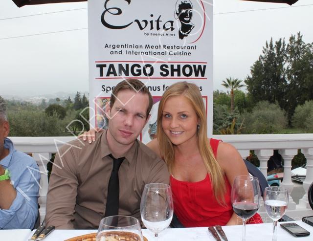 Press Lunch at Evita Restaurant