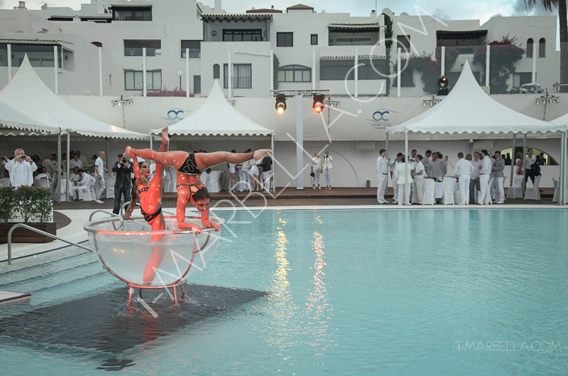 Ocean Club White & Silver Opening Party Vol.1