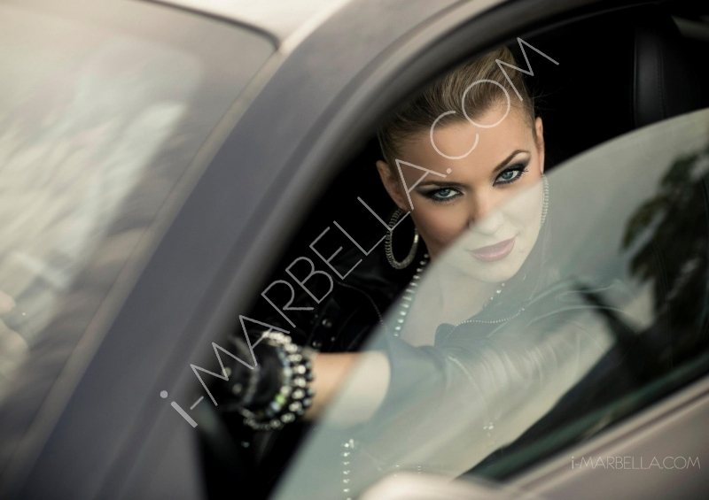 Spanish Stripper Tatiana Delgado Partied in Marbella with Christian-Rex