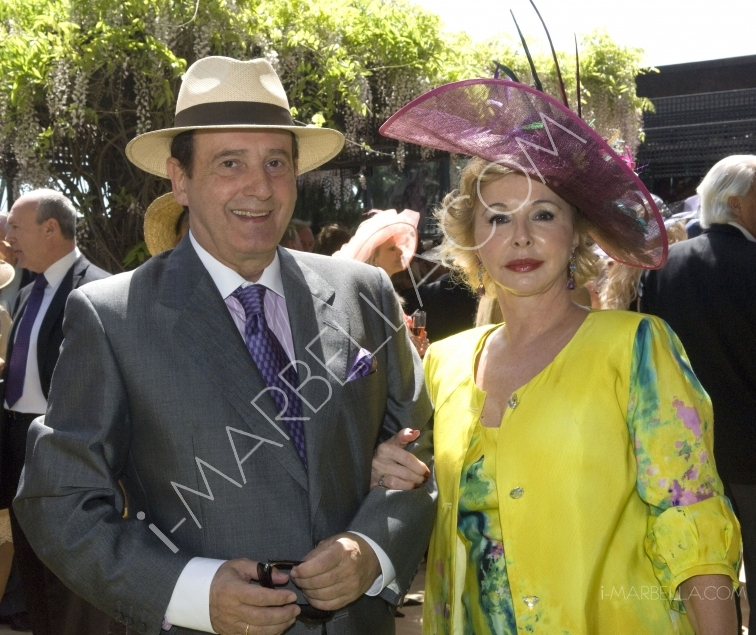 Kristina Szekely brings style and glamour back to Marbella with her traditional Easter Hat Party at the Meridiana