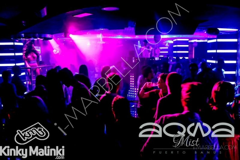 Kinky Malinki at Aqwa Mist Nightclub