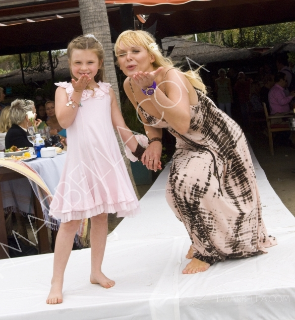 Nina B fashion Boutique and Vanilla Kids Charity Lunch and Fashion Show