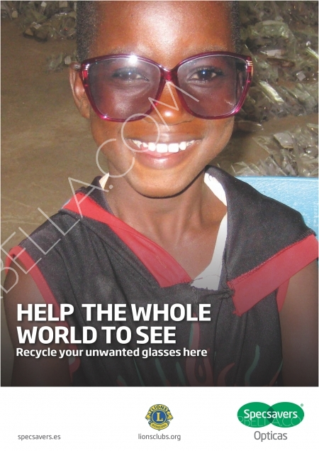 Specsavers Caring for Eyes on the Costa del Sol and in the Third World
