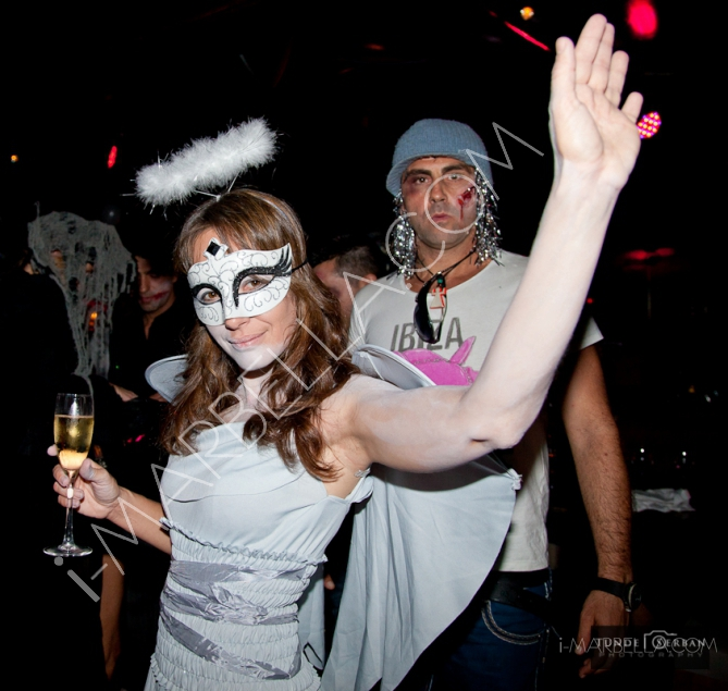 Angels & Demons Halloween Party at Suite