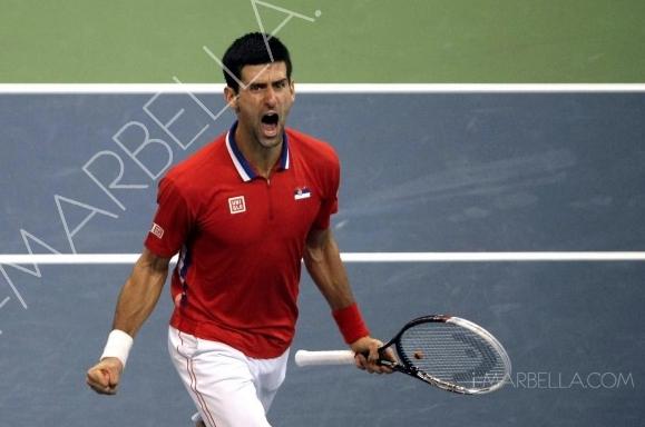 World No.2 Tennis Star Novak Djokovic Spotted in Marbella!