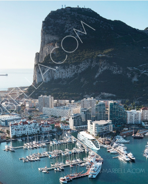 World's first five star floating hotel Arrived in Gibraltar