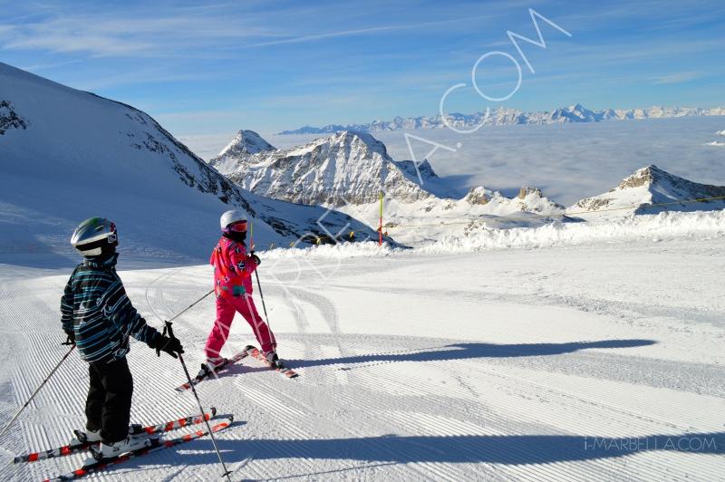 "Annika Urm:""Skiing in Cervinia - A fantastic experience!"""