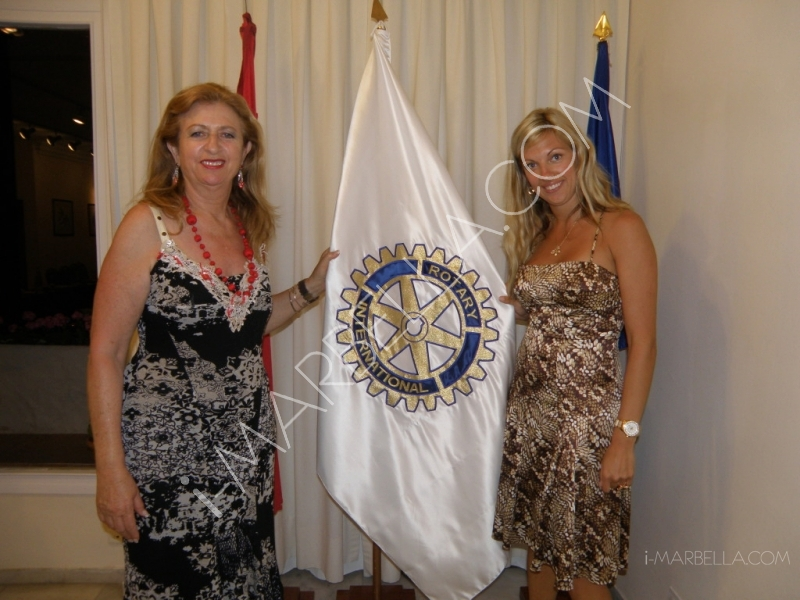 Kristina Szekely's year as the president of Rotary Club