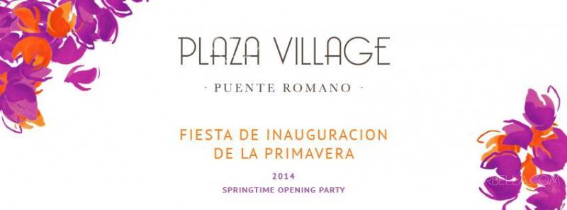 Vocalist Rebecca Lander Performing in Plaza Village Springtime Opening