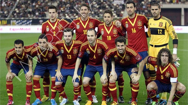 Spain just fourth favourites to win World Cup