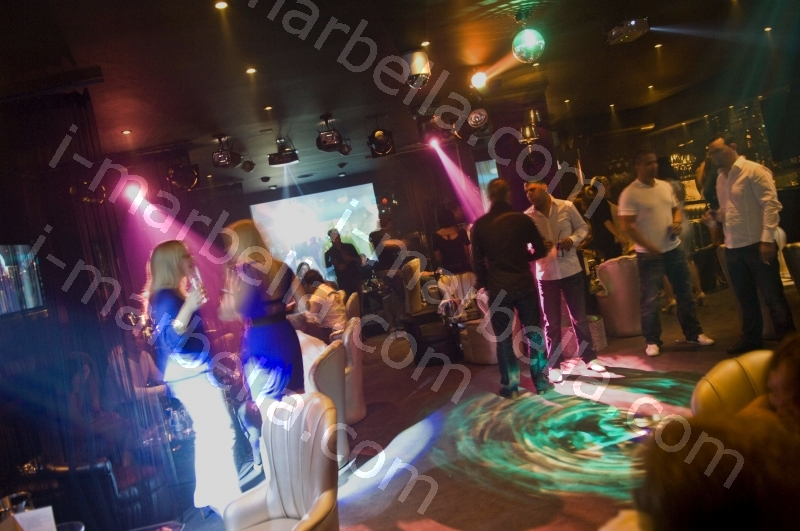 Studio 10 launch party in Puerto Banus, Marbella, Spain.