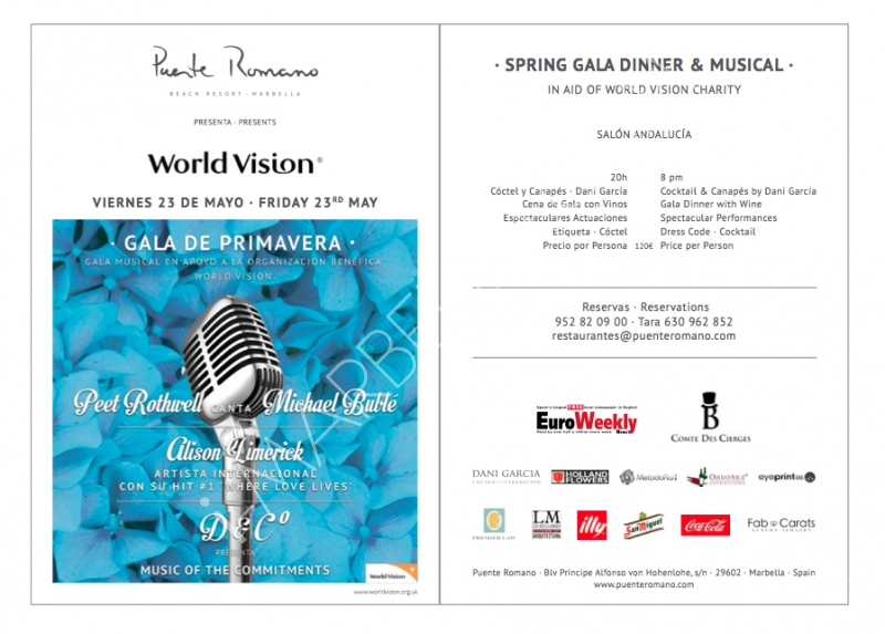 World Vision Charity Gala @ Hotel Puente Romano