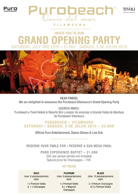 Puro Beach Opening Party