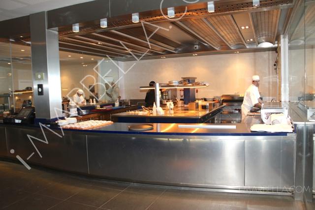 Press Lunch in Tahini Restaurant