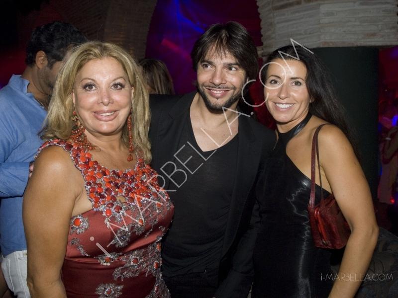 Spanish Flamenco Superstar Joaquin Cortes Parties At Olivia Valere's Opening Night