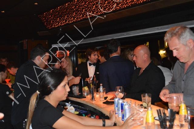Júlio Baptista Spotted in Suite Restaurant & Lounge