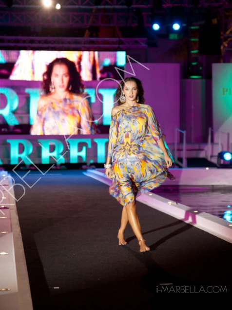 Sena Design Fashion Show on Floating Catwalk in MLW 2014