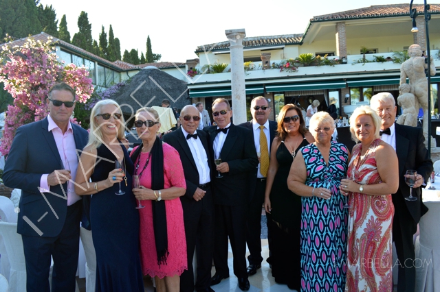 Over 340 People Attended Sir Sandro Morelli's Charity Gala in Villa Tiberio