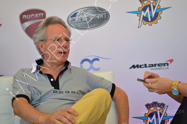 Exclusive Interview with Horacio Pagani