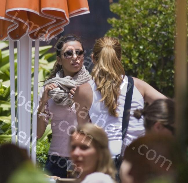 Eva Longoria, i-marbella Exclusive Pictures in Old Town Marbella