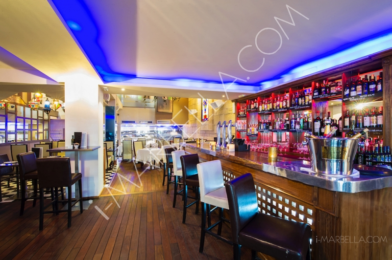 Where can you watch World Cup Games in Marbella?
