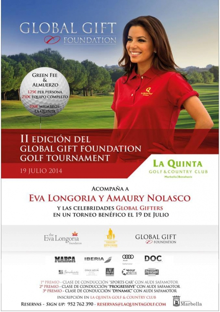Global Gift Gala Marbella 20 July 2014