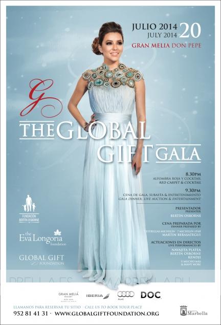 Global Gift Gala Marbella 20 July 2014