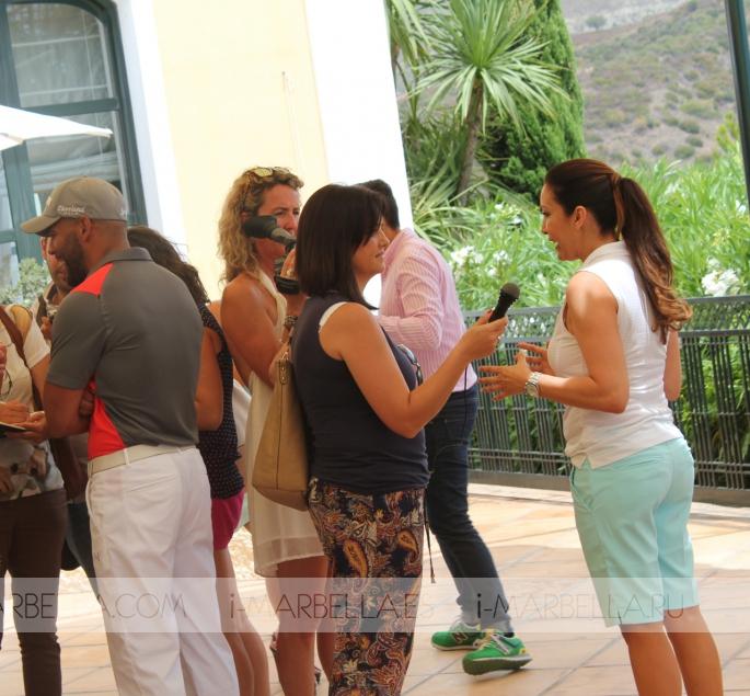 Global Gift Golf Tournament with Eva Longoria in La Quinta