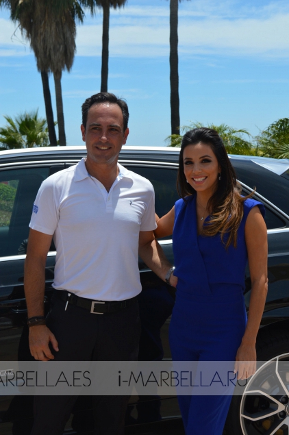 Global Gift Golf Tournament with Eva Longoria in La Quinta
