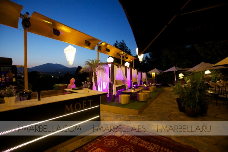 3 Summer Parties by Absolut Elyx in Finca Besaya